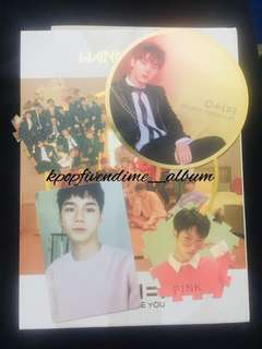 WTT WANNA ONE I PROMISE YOU DAY AND NIGHT TAZO PHOTOCARD MIRROR CARD