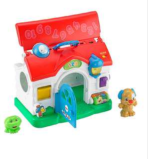 🚚 Fisher-Price Laugh & Learn Puppy's Activity Home