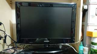 Samsung 22寸 LCD TV 電視 有HDMI 有遙控