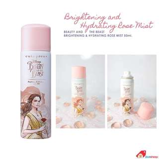 Beauty & the beast : whitening and hydrating rose face mist