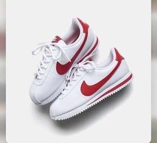 🚚 Nike 阿甘 紅白配色