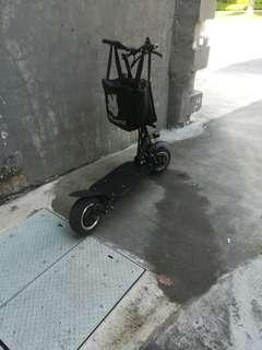 Trade escooter for ebike