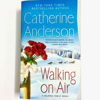 Walking On Air : A Valance Family Novel by Catherine Anderson (historical romance book)