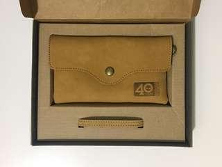 Timberland Wallet 限量40週年真皮手拿包