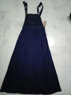 🆕Denim Overal Dress