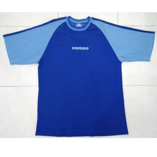 #UNDER90 Umbro Rare Blue T-Shirt Jersey (size L)