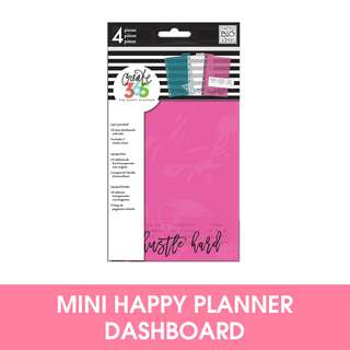 🚚 Mini Happy Planner Dashboards
