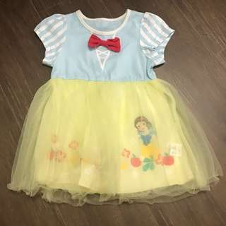 Preloved Snow White dress 12 months baby girl