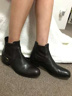 Dark Brown(Almost Black)Ankle Boots