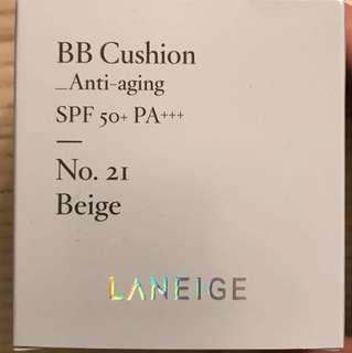 Laneige BB Cushion Refill Anti-aging No 21