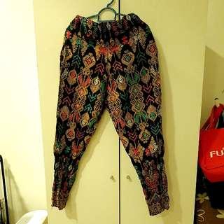 Sarawak Design Pants