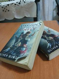 X2 :Assassins Creed Unity ;Books by(Oliver Bowden)