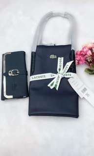 Lactose replica bag with wallet