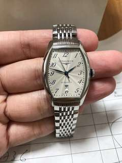 真品 90%new LONGINES 女裝 精鋼 手錶 women watch Swiss made 有單