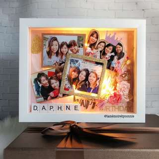 Personalised 3D Photo Frame (Friendship Forever)