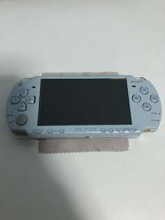 PSP 2000 slim Blue with freebies