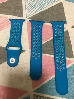100% Apple Orignial 38mm Nike+ Blue Sport Band - Nike+ 藍色運動錶帶