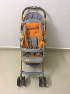 Japan Combi Urban Walker Orange Stroller