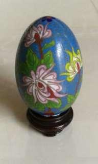 Oriental Egg Decorative Antique