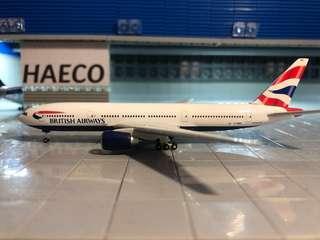 3架問題 飛機模型 1:500
