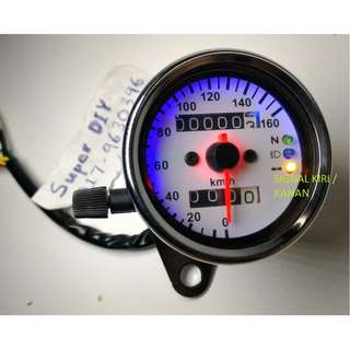 Universal Meter Speedo Retro Analog