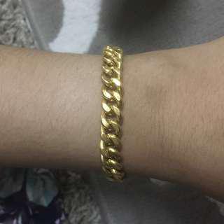Rantai tangan emas 916, 13.50 gram (19 cm)