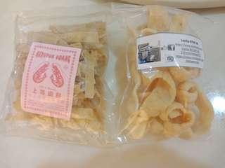 Kerupuk Udang Rangsang Shrimp Crackers