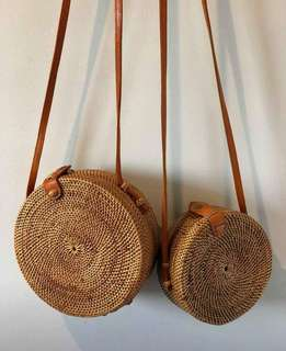 Authentic Bali Rattan Bags