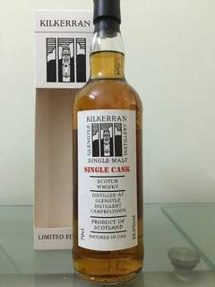 Kilkerran 11yo single cask