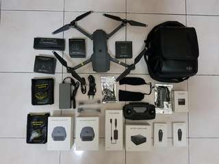 DJI Mavic Pro Fly More Combo (Under Warranty Till August 2018)