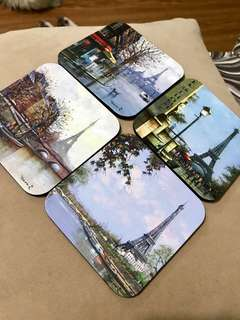 Paris cup coaster