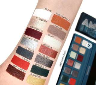 [PO#1] Face Candy Amazonia Palette