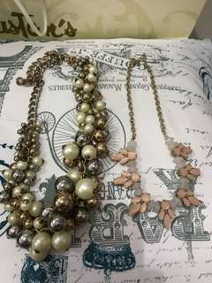 Zara &H&m necklace