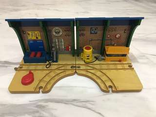 Learning Curve Wooden Thomas Train Sodor Steam Works