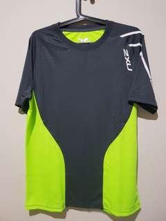 2XU T- Shirt (Neon Green)