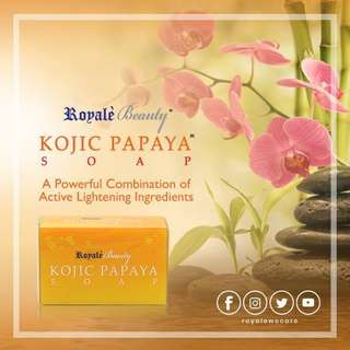 Beauty: Kojic Papaya Soap