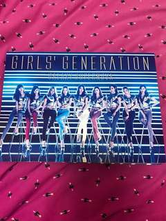 Girl's Generation Galaxy Supernova CD Single + DVD