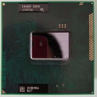 Intel Core I5-2410m 2.3GHz/2.9GHz  Laptop CPU   2 Cores/4 Threads