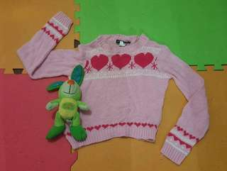 Sweater knitted for 2-3yrs old