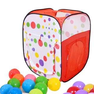 Children Ball pit playhouse with balls
