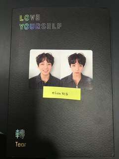 [WTS] BTS Jungkook LY TEAR R Version Official PC