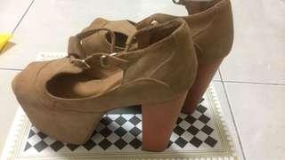 🚚 全新厚底涼鞋