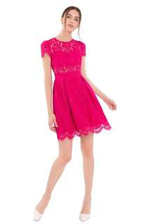 Doublewoot Pink Lace Dress