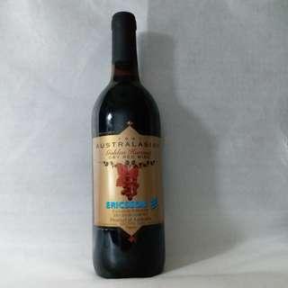 1997 Australasian Golden Harvest Dry Red Wine (Exclusively bottled for Ericsson Ltd.)