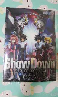 Strike Freedom Vs Destiny Gundam Plastic Poster