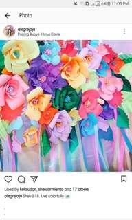 Paper Flowers Handmade