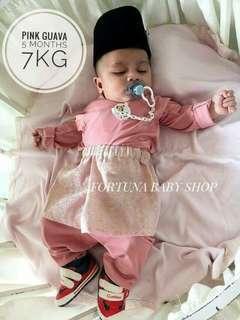 Baju Melayu Baby Lycra