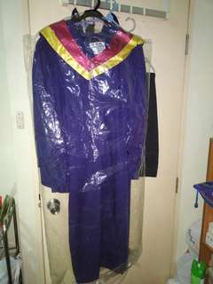 NYP graduation gown for sale - L size