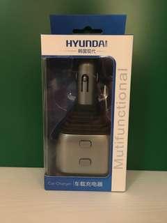汽車煙插叉電器 1開2加雙USB 2.4A + QC3.0