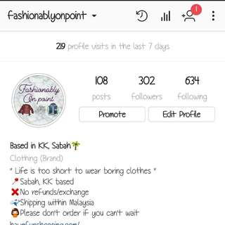 Please check out this ig shop! Thanks